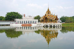 Pabellón del Thiphaya-arte de Pra Thinang Aisawan foto de archivo libre de regalías