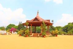 Pabellón en el museo de Napier Thiruvananthapuram Imagen de archivo