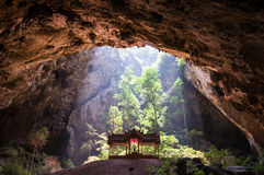 Pabellón en la cueva Fotos de archivo libres de regalías