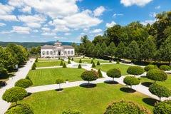 Pabellón famoso del jardín de la abadía de Melk en una Austria más baja Fotografía de archivo libre de regalías