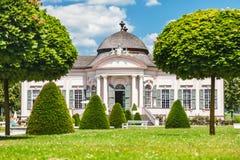 Pabellón famoso del jardín de la abadía de Melk en una Austria más baja Imagen de archivo