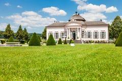 Pabellón famoso del jardín de la abadía de Melk en una Austria más baja Fotos de archivo libres de regalías