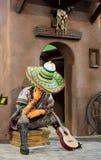 Pabellón México de la decoración en el Glob del centro de entretenimiento del parque Foto de archivo libre de regalías