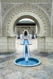 Pabellón marroquí hermoso imagen de archivo libre de regalías