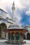 Pabellón que se lava de la mezquita fotografía de archivo