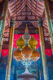 Pabellón real de la configuración tailandesa fotos de archivo libres de regalías