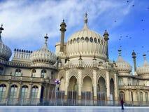 Pabellón real en Brighton en Sussex del este en el Reino Unido fotos de archivo