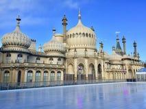 Pabellón real en Brighton en Sussex del este en el Reino Unido foto de archivo