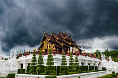 Pabellón real o Ho Kum Luang, Flora Expo real, Fotografía de archivo libre de regalías