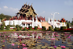 Pabellón real tailandés (Ho Kum Luang) Fotos de archivo