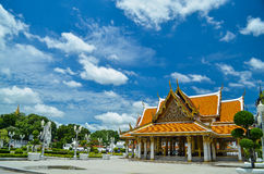 Pabellón tailandés real Mahajetsadabadin Imagenes de archivo