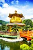 Pabellón tradicional chino Imagen de archivo libre de regalías