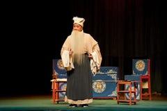 Pabellón viejo barbudo de la brisa de la ópera del šJiangxi del ¼ del manï imagen de archivo libre de regalías