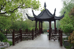 Pabellón chino antiguo Imagen de archivo libre de regalías
