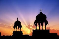 Pabellones de Bikaner Fotografía de archivo