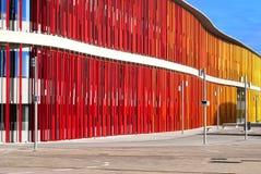 Pabellones Expo, Zaragoza Royalty-vrije Stock Foto
