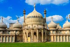 Pabellones reales de Brighton England imagen de archivo