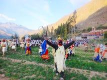 PABLITO в долине религиозного шествия священной cusco Стоковые Изображения
