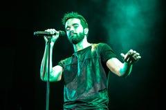Pablo Alborà ¡ ν στη ζωντανή συναυλία Στοκ Εικόνες