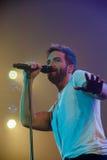 Pablo Alboran Live Tour Terral 2015, Lissabon Portugal stockfotografie