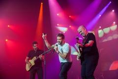 Pablo Alboran Live Tour Terral 2015, Lissabon Portugal Stockbilder