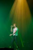 Pablo Alboran Live Tour Terral 2015, Lissabon Portugal Lizenzfreies Stockbild