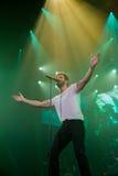Pablo Alboran Live Tour Terral 2015, Lissabon Portugal Stockfotos