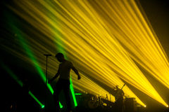 Pablo Alboran Live Tour Terral 2015, Lissabon Portugal Stockbild