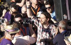 Pablo Iglesias, Podemos Images stock
