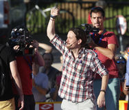 Pablo Iglesias, Podemos Imágenes de archivo libres de regalías