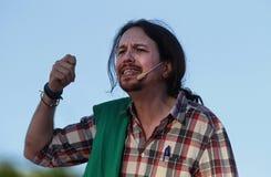 Pablo Iglesias, Podemos Fotografia de Stock Royalty Free