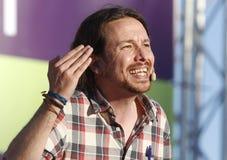 Pablo Iglesias, Podemos Imagen de archivo libre de regalías
