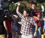 Pablo Iglesias, Podemos. Royalty Free Stock Images