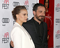 Pablo Larrain and Natalie Portman Royalty Free Stock Image