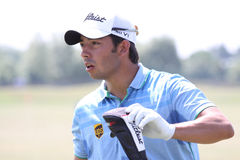 Pablo Larrazabal at golf French Open 2010 Stock Photography