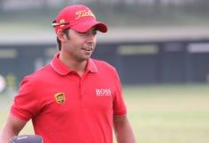 Pablo Larrazabal at golf French Open 2010 Royalty Free Stock Image