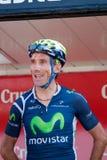 Pablo Lastras chez le Vuelta 2012 photographie stock