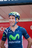 Pablo Lastras at the Vuelta 2012 Stock Photography