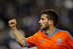 Pablo Piatti of Valencia CF Royalty Free Stock Photos