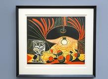 Pablo Picasso - au musée d'Albertina à Vienne photos libres de droits