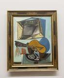Pablo Picasso - bij het museum van Albertina in Wenen stock foto's