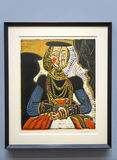 Pablo Picasso - en el museo de Albertina en Viena Fotos de archivo