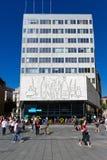 Pablo Picasso frize in Barcelona Spanien Lizenzfreie Stockfotografie
