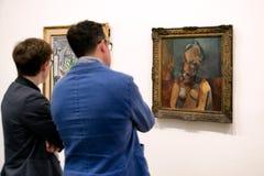 Pablo Picasso i moderna Tate, London Royaltyfri Foto