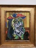 Pablo Picasso kvinnagråt royaltyfria foton