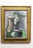 Pablo Picasso - no museu de Albertina em Viena Fotografia de Stock Royalty Free