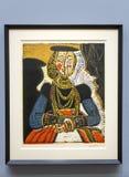 Pablo Picasso - no museu de Albertina em Viena Fotos de Stock