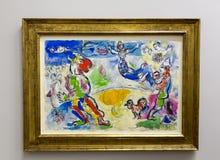 Pablo Picasso - på det Albertina museet i Wien Royaltyfri Foto