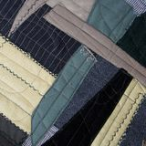 Pablo Picasso style patchwork. Fragment of the cubism style patchwork as background Royalty Free Stock Image