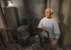 Pablo Picasso Wax Figure Stock Photos